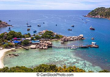 isla,  Yuan,  nang, Tailandia