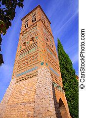 Aragon Teruel Torre de San Martin Mudejar UNESCO heritage in...