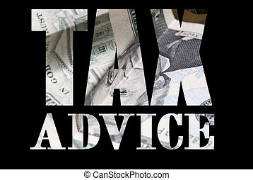 Tax, Money and Taxes - Money and Currency Design Background...
