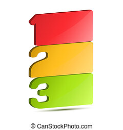 Vector Progress background / product choice or versions....