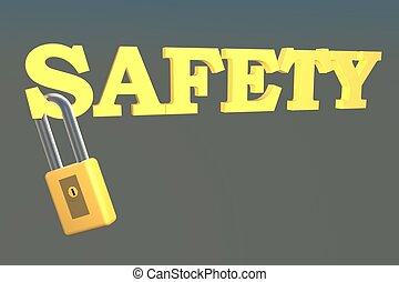 Safety with lock