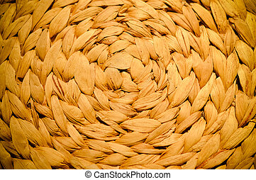 patern design of natural material weaving background