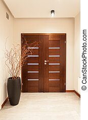 Grand design - door - Grand design - wooden door, main...