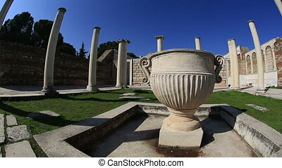 Sardis Ancient City - Synagogue of Sardis Ancient City at...