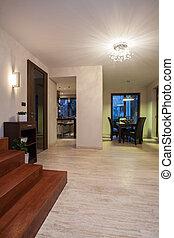 Travertine house - corridor - Travertine house - hallway and...