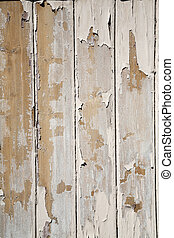 Peeling paint background - Old clapboards with peeling paint...