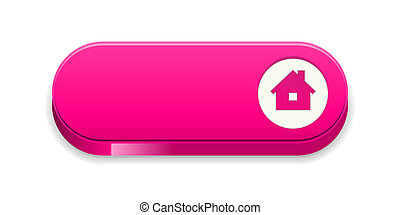 the homepage button - the blank glossy pink button with...