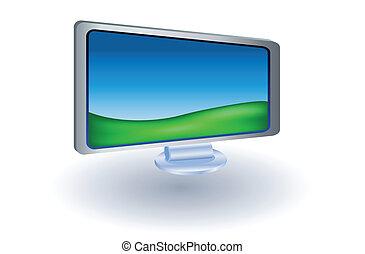 lcd monitor tv