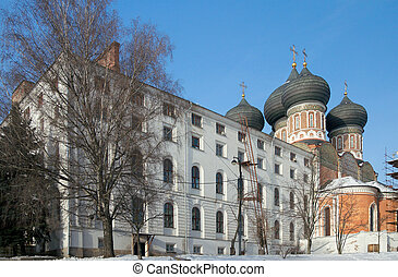 Ismylovo Estate in winter, Moscow - South soldiers quarters...
