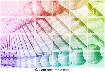 DNA Sequencing with Genetic Helix Formula as Art