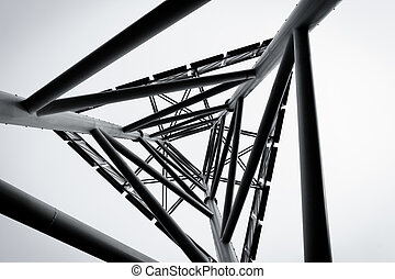 technology abstract  structure