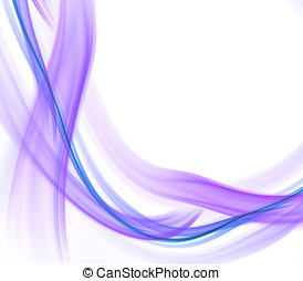 Tangle Ribbons Abstract - Abstract Background - Soft,...