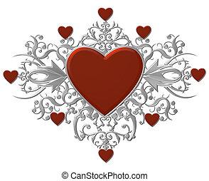 heart crest