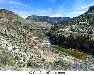 salt river canyon in arizona
