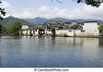 Hongcun south lake - South lake at Hongcun, China