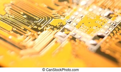Circuit board - Close up of a Circuit board