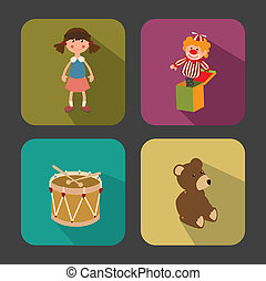 baby design over gray background vector illustration