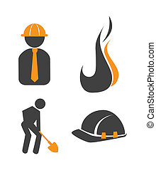 industry design over white background vector illustration...