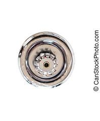 Fire sprinkler - Close up image of fire sprinkler on white