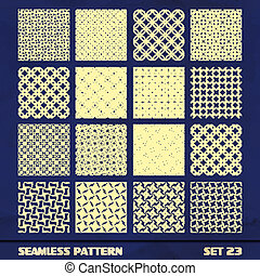 Seamless vintage pattern - SEAMLESS vintage pattern Abstract...