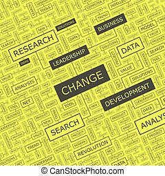 CHANCE Background concept wordcloud illustration Print...