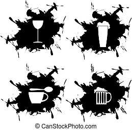 four splotch - splotch and embedded Limonada coffee beer and...