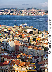 City of Istanbul from Above - Istanbul cityscape from above...