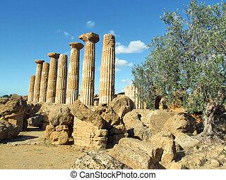 grecian temple