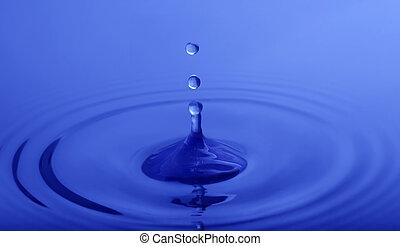 水, 小滴