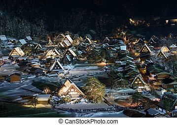 Historic Village of Shirakawa-go - The Shirakawa-go is...