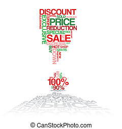 Sale discount poster