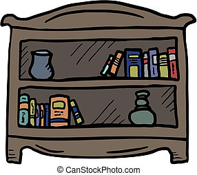 Library book - Creative design of librery book