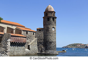 Collioure in the Vermilion coast, France