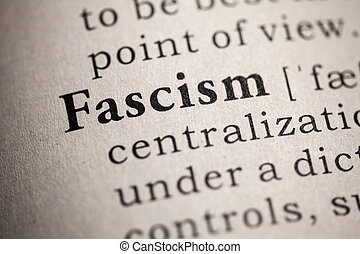 fascism - Fake Dictionary, Dictionary definition of the word...