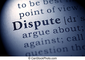 dispute - Fake Dictionary, definition of the word dispute.