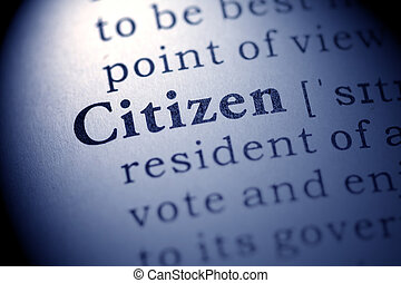 citizen - Fake Dictionary, definition of the word citizen.