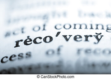 Word recovery in shallow focus - Dictionary word recovery...