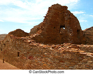 Chaco Culture - N. M. - Chaco Culture National Historic Park...