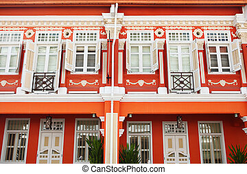 Traditional architecture in Singapore