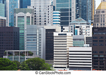 Commercial building in Singapore