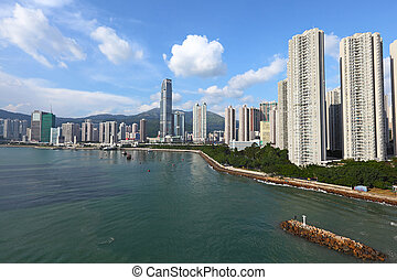 Coastline in Hong Kong