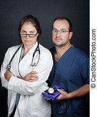 專業人員, 健康, 關心