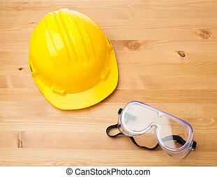 equipamento, construção, segurança, padrão