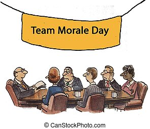 Team Morale Day