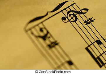 宏, 音樂, 得分, 背景