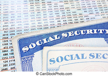 Soc Security cards and numbers - Social Security cards and a...