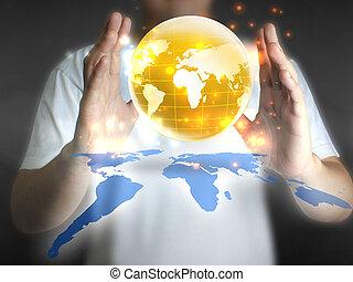 商人, 藏品, 世界