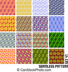Seamless pattern Abstract background Great collection
