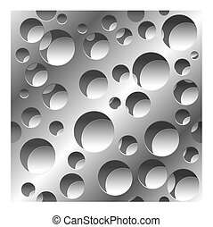 abstract perforated seamless pattern background - abstract...