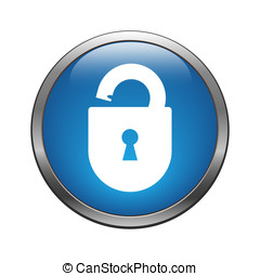 Unlock icon - Unlock crack icon